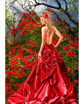 Puzzle Bluebird - Nene Thomas: Tais in Red, 1500 piese (Bluebird-Puzzle-70276)