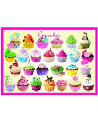 Puzzle Eurographics - Cupcakes, 300 piese (8300-0519)