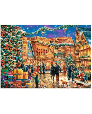 Puzzle Trefl - Christmas Market, 1.000 piese (10554)