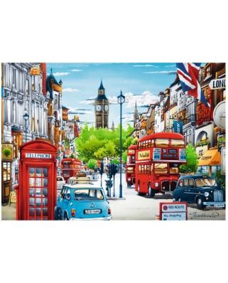 Puzzle Trefl - London, 1.000 piese (10557)