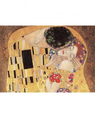 Puzzle Trefl - Gustav Klimt: The Kiss, 1.000 piese (10559)