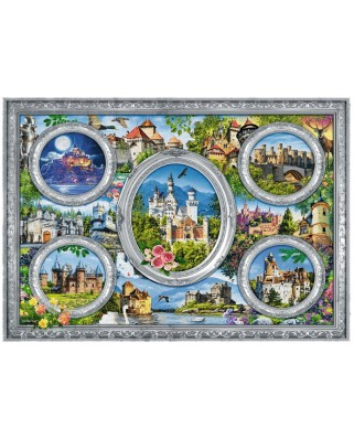 Puzzle Trefl - Castles of the World, 1.000 piese (10583)