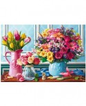 Puzzle Trefl - Flowers, 1500 piese (26157)