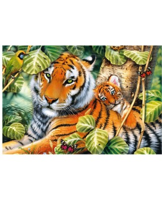 Puzzle Trefl - Two Tigers, 1500 piese (26159)