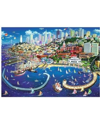Puzzle Trefl - San Francisco Bay, 2.000 piese (27107)
