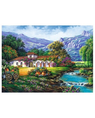 Puzzle Trefl - Hacienda by the Stream, 3.000 piese (33051)
