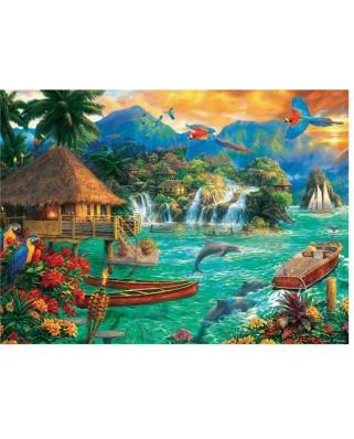Puzzle Trefl - Chuck Pinson: Island Life, 3.000 piese (33072)