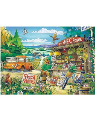 Puzzle Trefl - Morning in the Countryside, 500 piese (37352)