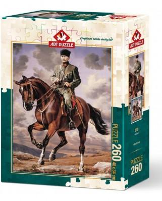 Puzzle Art Puzzle - Mustafa Kemal Ataturk, 260 piese (Art-Puzzle-4269)