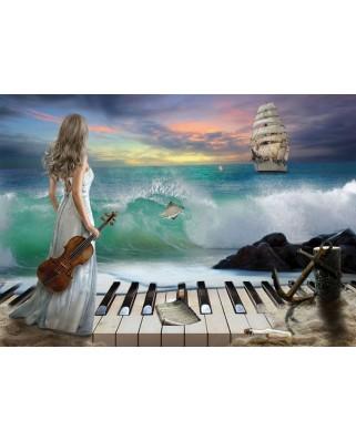 Puzzle Art Puzzle - Sea Symphony, 1.000 piese (Art-Puzzle-4468)