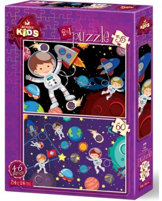 Puzzle Art Puzzle - Space, 35/60 piese (Art-Puzzle-4495)