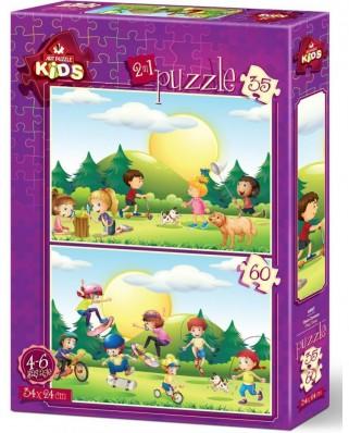 Puzzle Art Puzzle - Kids, 35/60 piese (Art-Puzzle-4497)