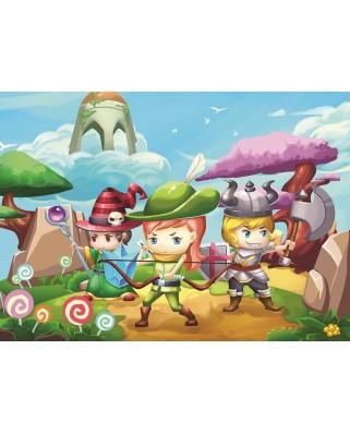 Puzzle Art Puzzle - Little Hero, 50 piese XXL (Art-Puzzle-4501)