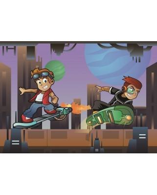 Puzzle Art Puzzle - The Skater Boys, 50 piese XXL (Art-Puzzle-4502)