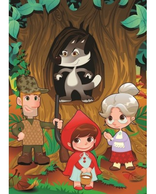 Puzzle Art Puzzle - Little Red Riding Hood, 50 piese XXL (Art-Puzzle-4503)