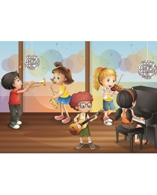 Puzzle Art Puzzle - Orchestra, 100 piese (Art-Puzzle-4510)