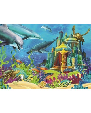 Puzzle Art Puzzle - The Underwater Castle, 150 piese (Art-Puzzle-4525)