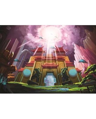 Puzzle Art Puzzle - The Fantastic Castle, 200 piese (Art-Puzzle-4530)