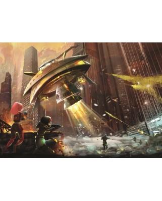 Puzzle Art Puzzle - Space Wars, 200 piese (Art-Puzzle-4531)