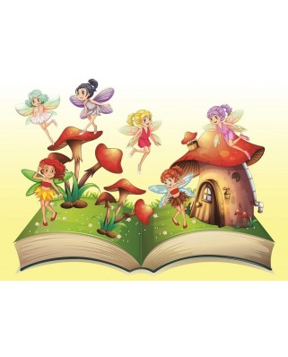 Puzzle Art Puzzle - Little Fairy, 200 piese (Art-Puzzle-4533)