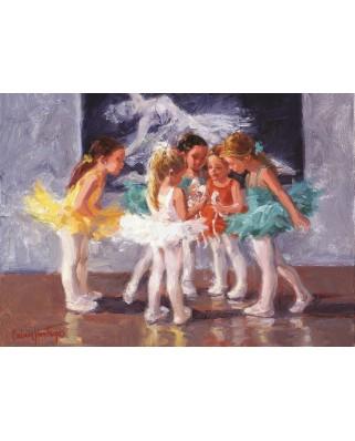Puzzle Art Puzzle - Little Ballerinas, 200 piese (Art-Puzzle-4537)