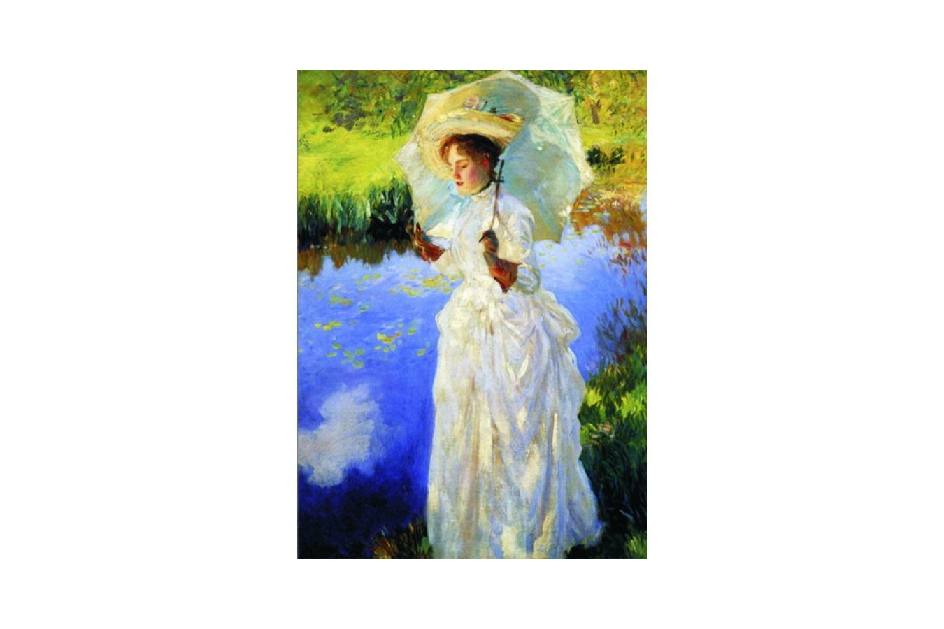 Puzzle Gold Puzzle - John Singer Sargent: Morning Walk, 1.000 piese (Gold-Puzzle-60393)
