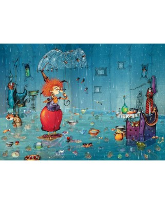 Puzzle Grafika - Francois Ruyer: Wet Witch, 1.000 piese (T-00939)