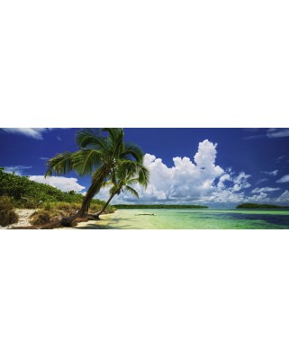 Puzzle panoramic Heye - Paul Marcellini: Paradise Palms, 2.000 piese (29860)