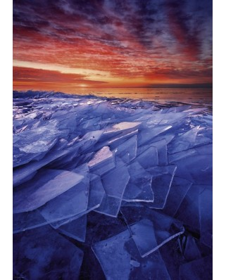 Puzzle Heye - Ryan Tischer: Ice Layers, 1.000 piese (29862)