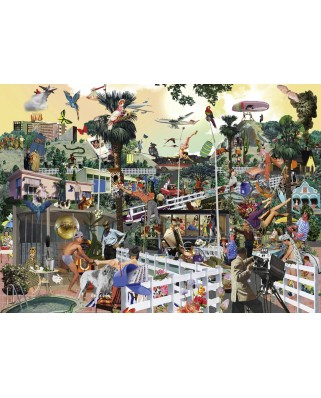 Puzzle Heye - Sanda Anderlon: In The Hills, 1.000 piese (29863)