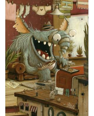 Puzzle Heye - Johan Potma: Laundry Day, 1.000 piese (29865)