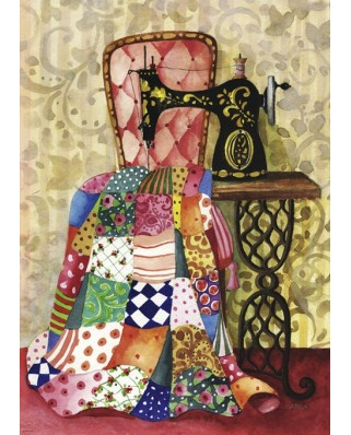 Puzzle Heye - Gabila Rissone: Quilt, 1.000 piese (29868)
