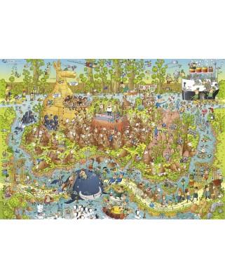 Puzzle Heye - Marino Degano: Australian Habitat, 1.000 piese (29870)