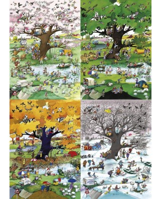 Puzzle Heye - Roger Blachon: 4 Seasons, 2.000 piese (29873)
