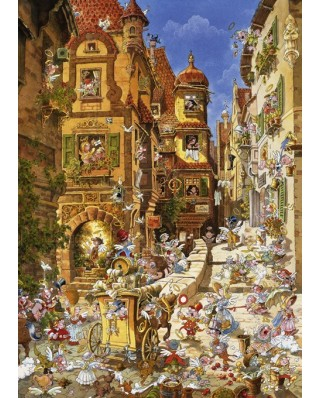 Puzzle Heye - Ryba Michael: By Day, 1.000 piese (29874)