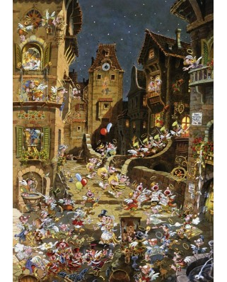 Puzzle Heye - Ryba Michael: By Night, 1.000 piese (29875)