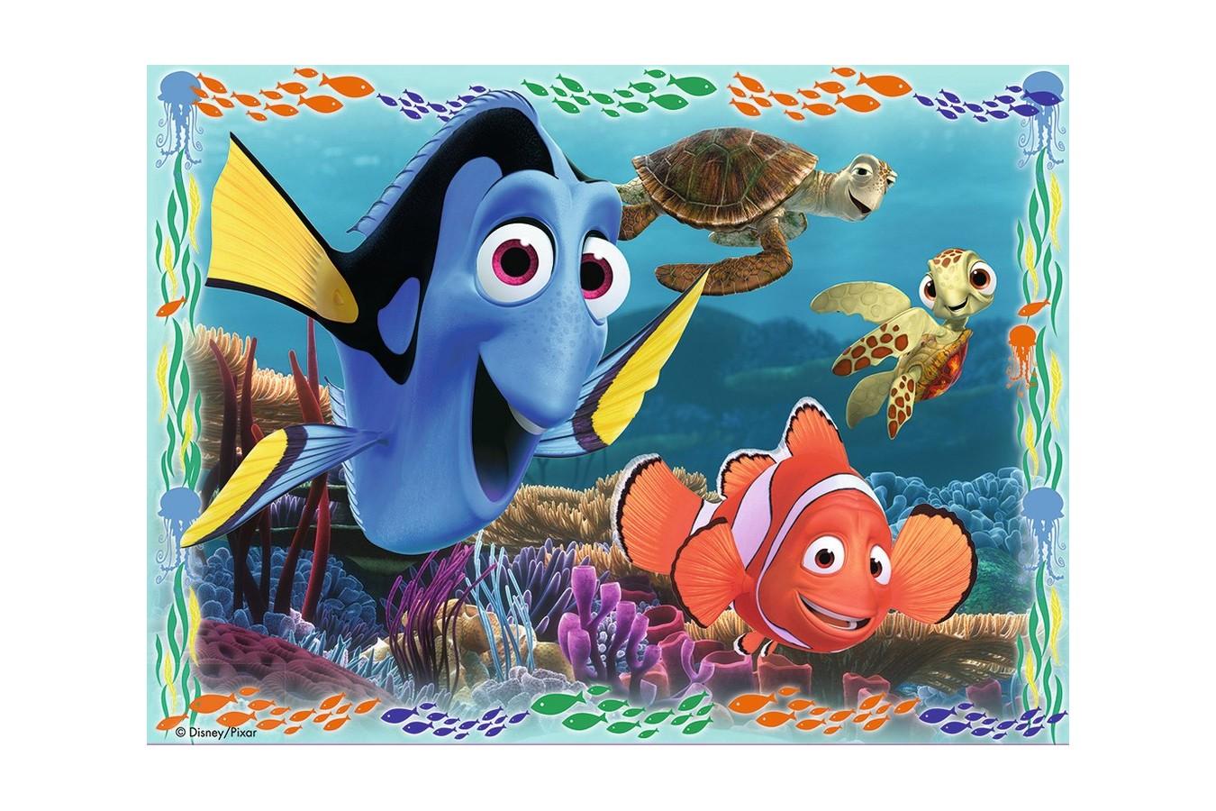 Puzzle Ravensburger - Pestisorul Nemo, 12/16/20/24 piese (07321)