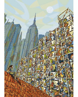 Puzzle Heye - Home in Mind, 1.000 piese (29876)