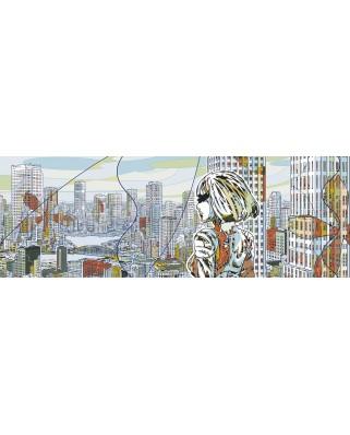 Puzzle panoramic Heye - Aquapolis, 1.000 piese (29877)