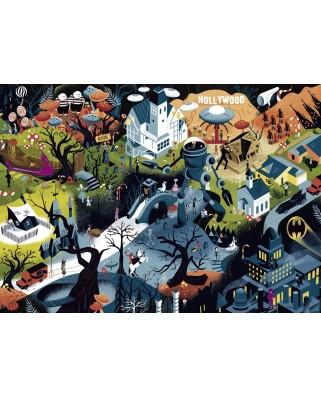 Puzzle Heye - Alexandre Clerisse: Tim Burton Films, 1000 piese (29882)