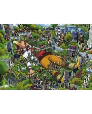 Puzzle Heye - Uli Oesterle: Gulliver, 1.000 piese (29886)