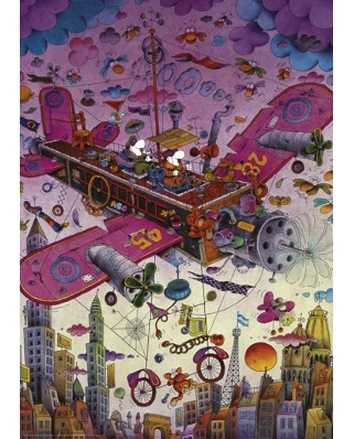 Puzzle Heye - Guillermo Mordillo: Fly With Me!, 1.000 piese (29887)