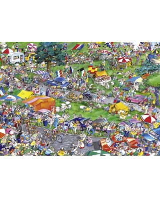 Puzzle Heye - Roger Blachon: Cycle Race, 1.000 piese (29888)
