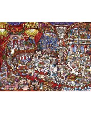 Puzzle Heye - Rita Berman: Patisserie, 1500 piese (29889)