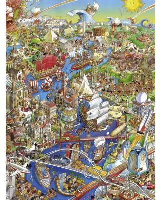 Puzzle Heye - Hugo Prades: History River, 1500 piese (29890)