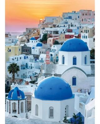 Puzzle Clementoni - Santorini, 1.000 piese (39480)