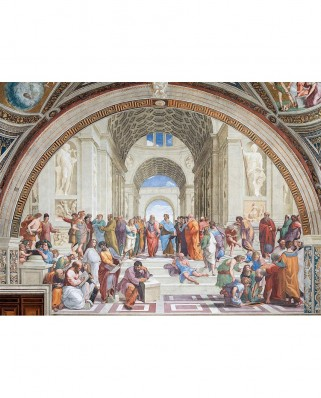 Puzzle Clementoni - Raphael: The School of Athens, 1.000 piese (39483)