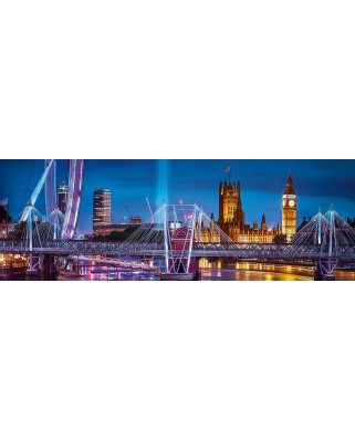 Puzzle panoramic Clementoni - London, 1000 piese (39485)