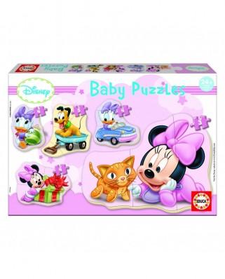 Puzzle progressiv - 5 Baby Puzzle: Disney: Minnie