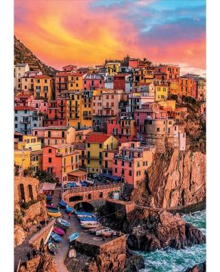 Puzzle Educa - Manarola, Cinque Terre, Italy, 300 piese XXL (17980)